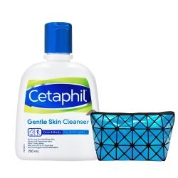Cetaphil舒特膚 全效潔膚乳250ml+藍色菱格