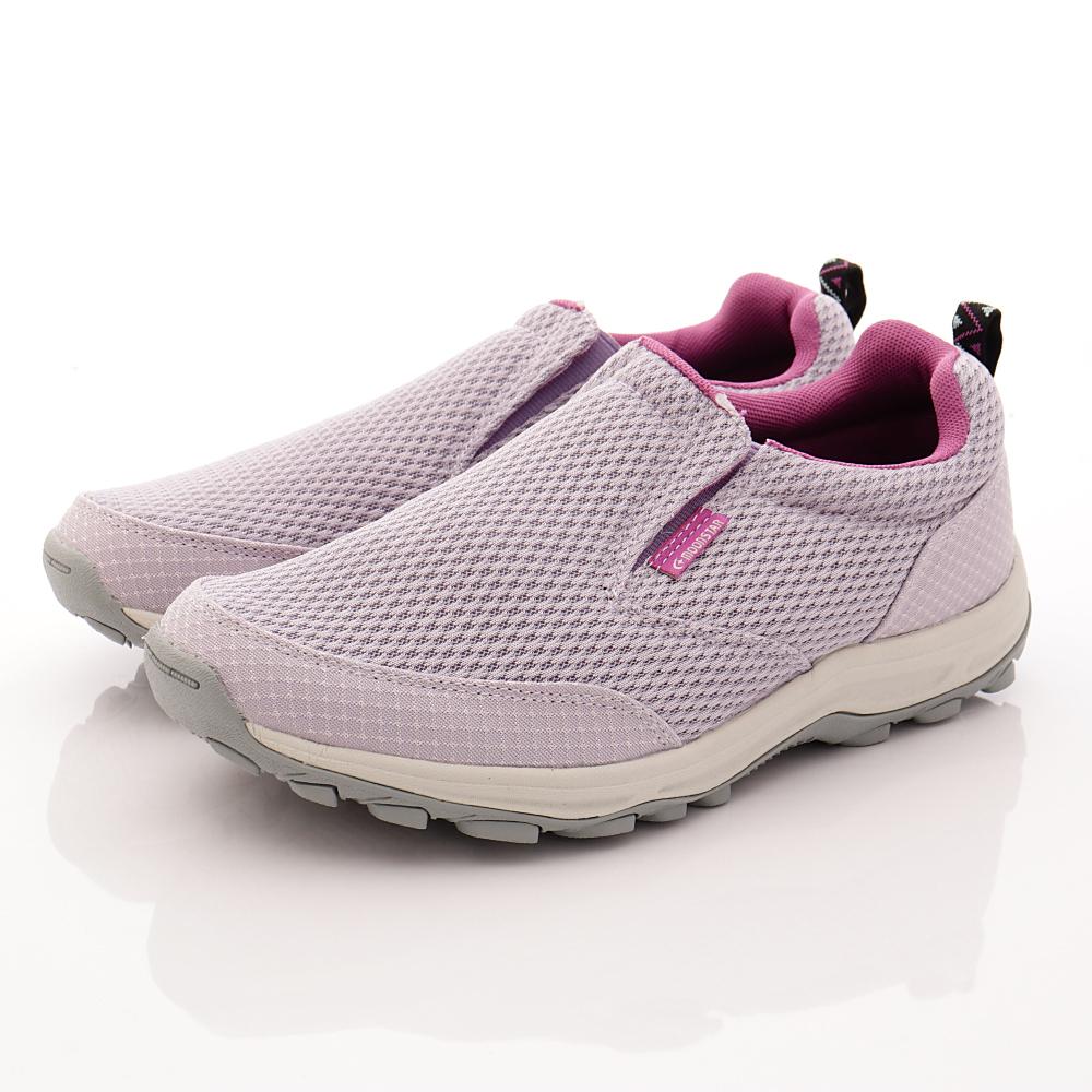 日本Supplist戶外健走鞋-簡約涼感款-ON519淡紫(女段)