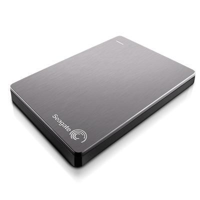 Seagate 1TB 行動硬碟 Backup Plus - 亮采銀