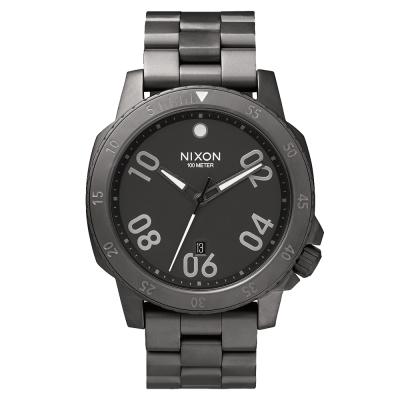 NIXON RANGER星際領航員時尚潮流腕錶-深灰/44mm