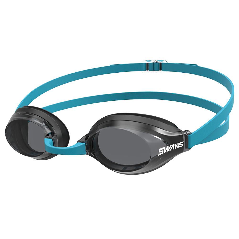 【SWANS 日本】光學通用型泳鏡 (防霧/抗UV/矽膠 SR-3N 藍/黑 )