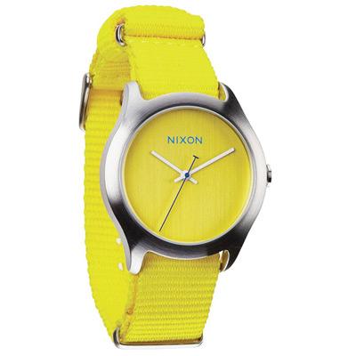 NIXON MOD 戶外冒險休閒腕錶-黃/38mm