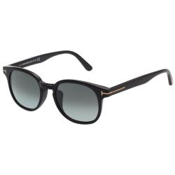 TOM FORD 復古方框 太陽眼鏡-黑色-TOM399F