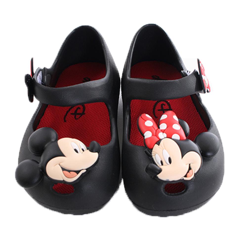 迪士尼米妮輕量美型休閒鞋 黑 sk0267 魔法Baby
