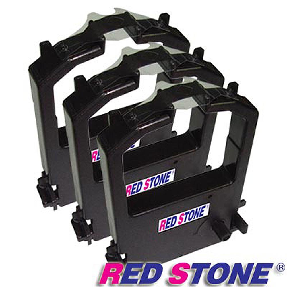 RED STONE for FUJITSU DL1100黑色色帶組(1組3入)