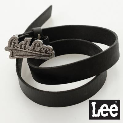 Lee-皮帶-金屬皮帶頭-女款-黑