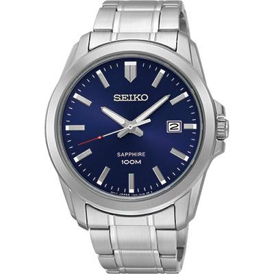 SEIKO CS系列大三針石英錶(SGEH47P1)-藍/41mm