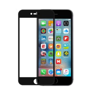防摔專家  iPhone7 Plus 5.5吋 2.5D曲面滿版鋼化玻璃貼-急速...