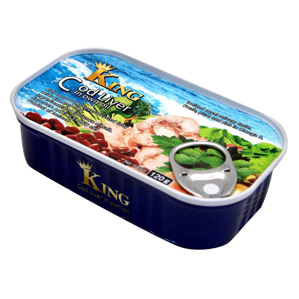 AJTEL ICELAND 鱈魚肝罐(120g)