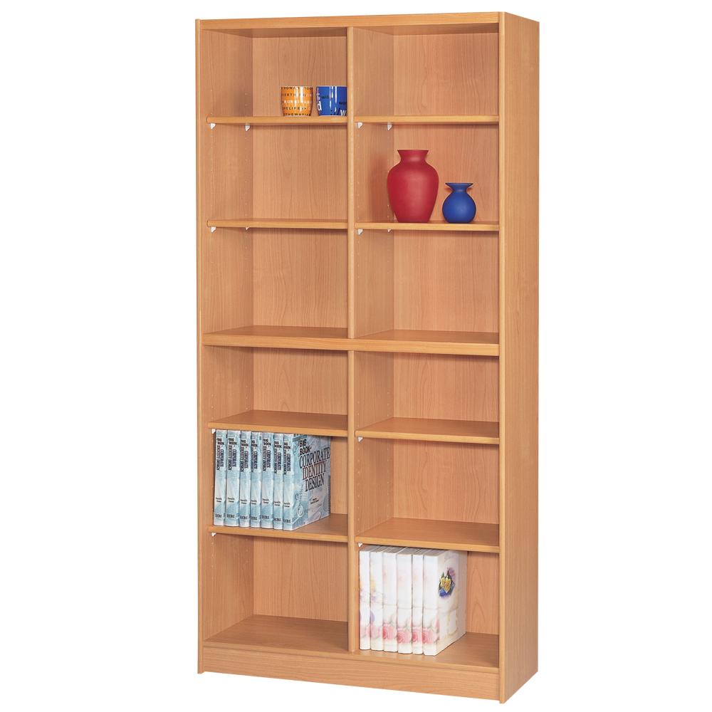 時尚屋 豪豐3x6尺開放式書櫃 寬90cm 多色可選-免組