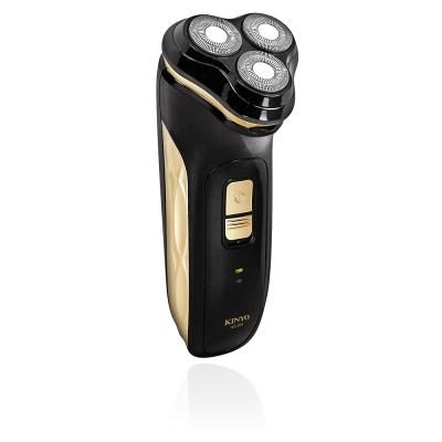 KINYO 充電式可水洗淨速三刀頭刮鬍刀(KS305)