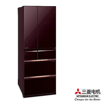 MITSUBISHI 三菱605L變頻六門電冰箱 MR-WX61C/BR