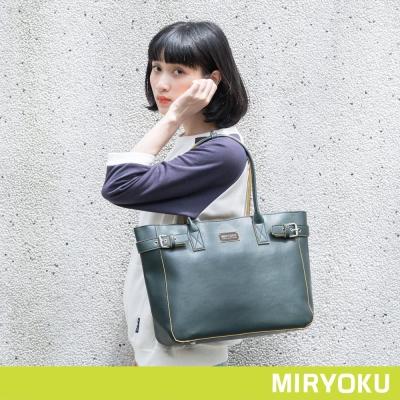 MIRYOKU-繽紛撞色系列-俐落大方肩背包-共3