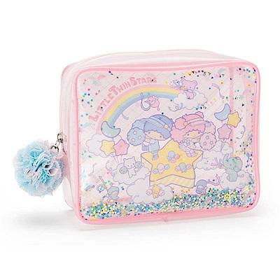 Sanrio 雙星仙子星空啦啦隊系列PVC防水化妝包