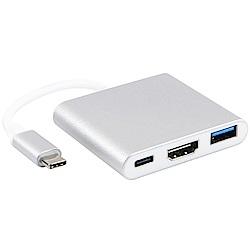 伽利略 Type-C HDMI(4K2K)60Hz+USB3.0+PD