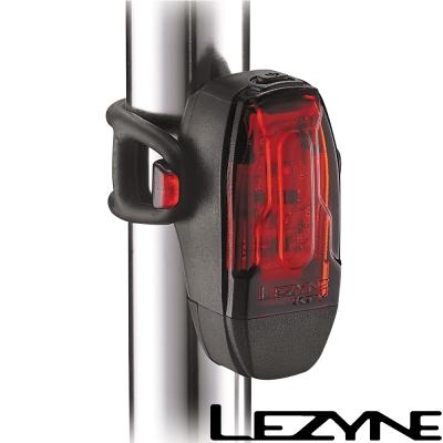 LEZYNE KTV DRIVE REAR USB充電光學透鏡LED警示尾燈(黑)
