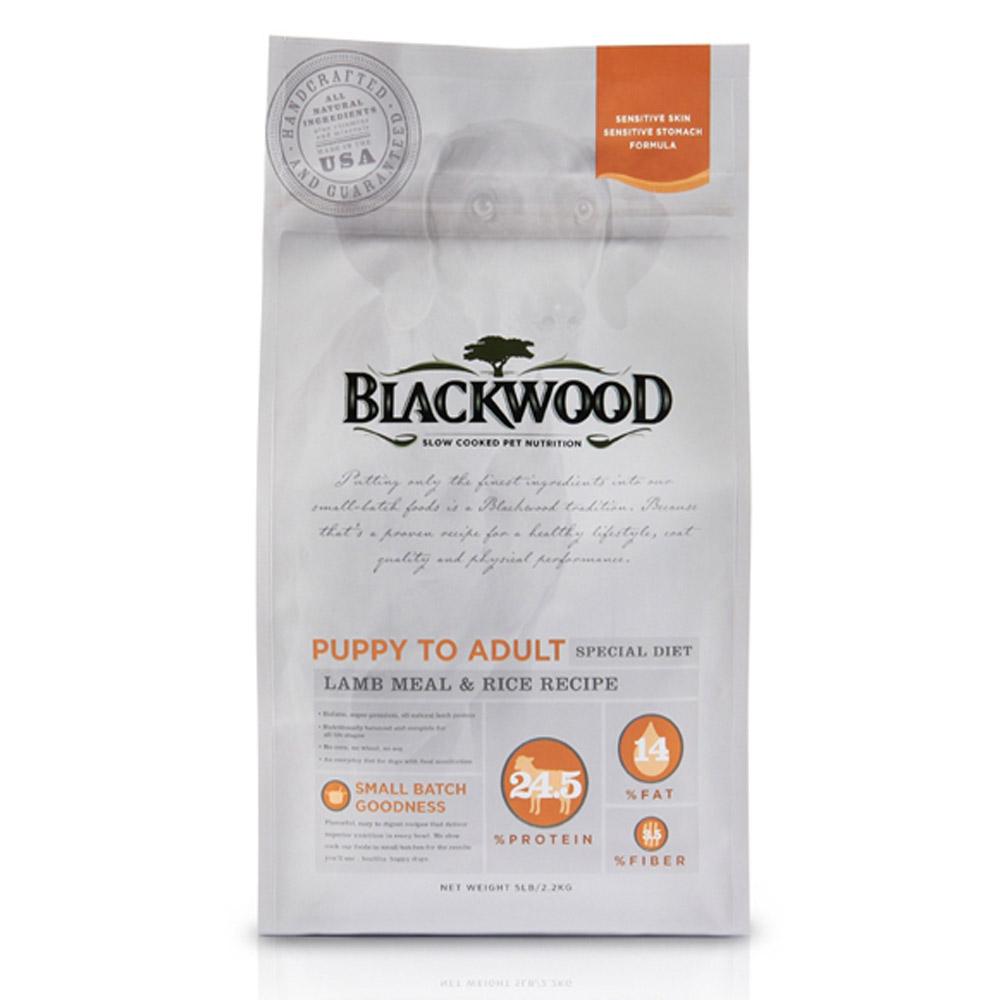 BlackWood 柏萊富 功能性全齡護膚亮毛配方(羊肉+米)15磅 6.8kg