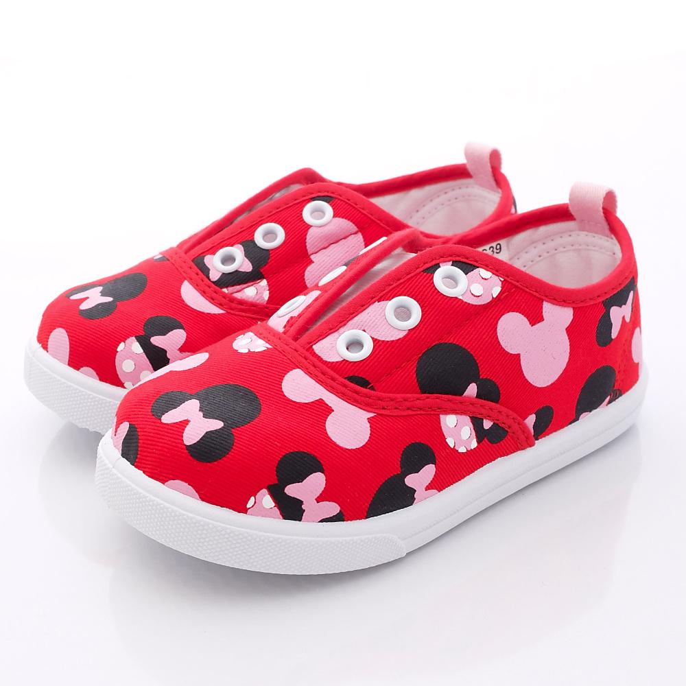 迪士尼童鞋-米妮休閒款-FO53639紅(中小童段)HN