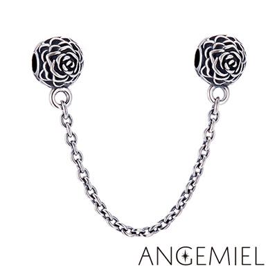 Angemiel安婕米-925純銀-夾扣式安全鍊