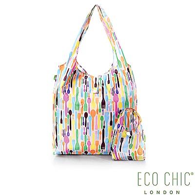 英國ECO CHIC折疊購物袋-餐具