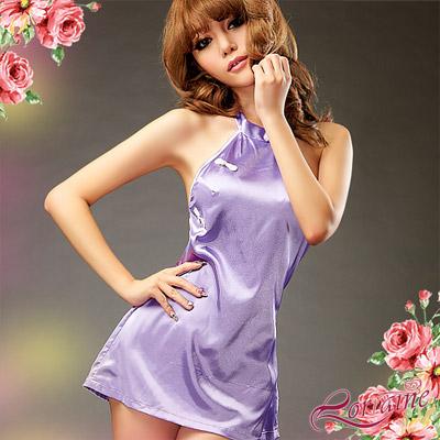 【Lorraine】東方韻味!美背肚兜二件式短旗袍