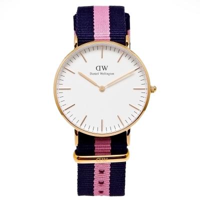 DW Daniel Wellington 經典Winchester女腕錶-白/36mm