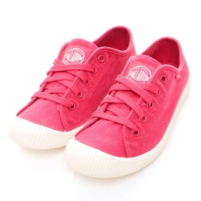 PALLADIUM-FLEX-LACE女休閒鞋-紅