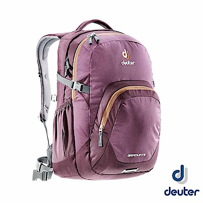 【德國 Deuter】GRADUATE 二用雙肩後背包 28L_深紫