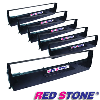 RED STONE for EPSON  #7753/LQ300黑色色帶組(1組6入)