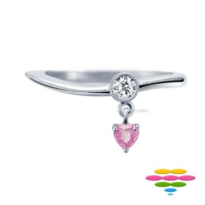 彩糖鑽工坊 鑽石戒指/線戒 愛麗絲系列
