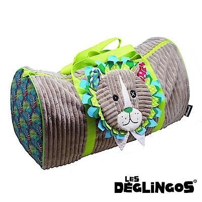 Les Deglingos 立體玩偶旅行側背包(周末休閒包)-獅子 (JELEKROS)