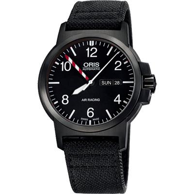 Oris Air Racing Edition III BC3限量機械腕錶-黑/42mm