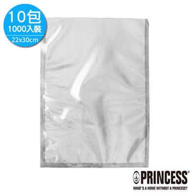 PRINCESS荷蘭公主真空壓紋包裝袋22x30cm-中-10包1000入裝