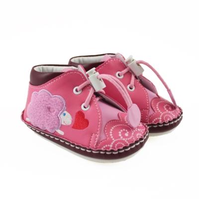 愛的世界 小綿羊寶寶鞋(高筒)/學步鞋-台灣製-