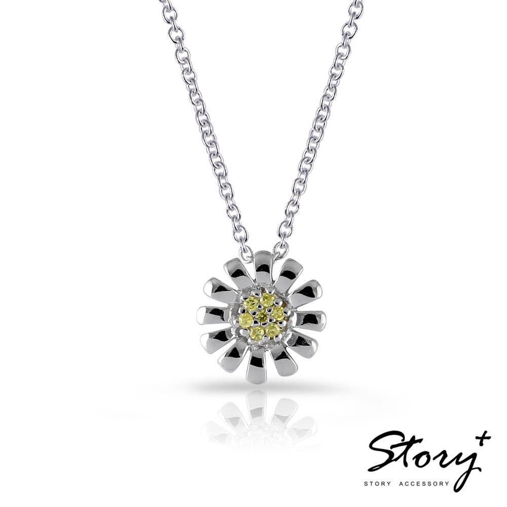 STORY故事銀飾-浪漫小物系列 - Daisy 925純銀項鍊
