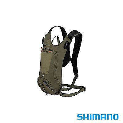 SHIMANO UNZEN 登山車水袋後背包 2L 橄欖綠