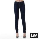 Lee 牛仔褲418中腰緊身窄管牛仔褲-女款-藍