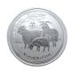 澳洲生肖紀念幣-澳洲2015羊年生肖銀幣(1/2盎司) product thumbnail 1