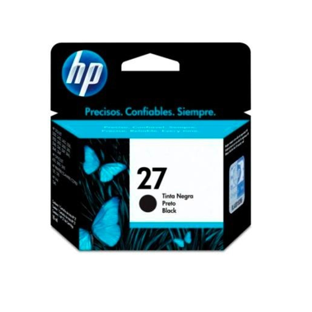 HP C8727A NO.27 原廠黑色墨水匣(一入)