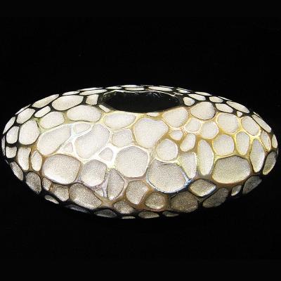 *創意時尚歐風*橢圓蜂巢玻璃纖維花器桌飾
