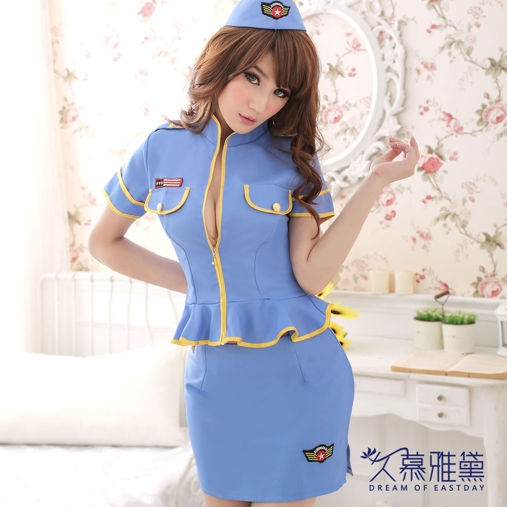 久慕雅黛 空中天使空姐制服角色扮演服
