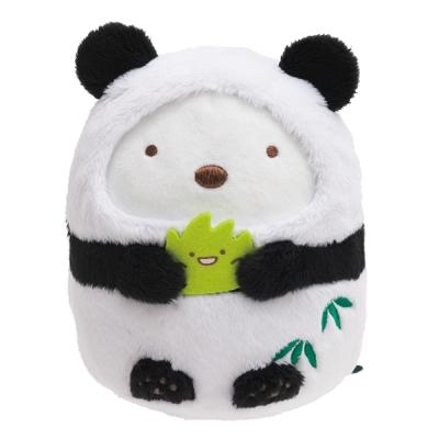 角落公仔環遊世界海外限定版毛絨公仔。白熊君。中國熊貓 San-X