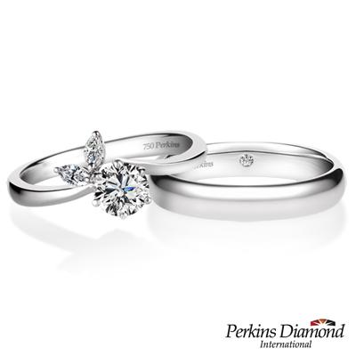 PERKINS 伯金仕 - Mia系列 鑽石結婚對戒