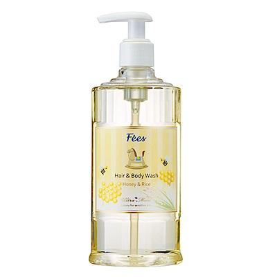 Fees法緻 嬰兒柔護洗髮沐浴精-蜂蜜米300ml