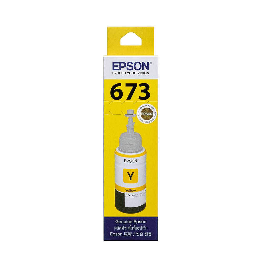 EPSON T673400 原廠黃色墨水匣