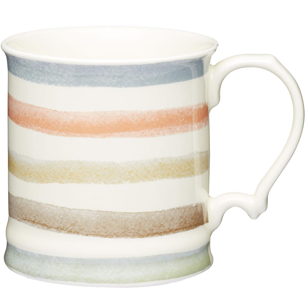 KitchenCraft 骨瓷馬克杯(復古條紋)