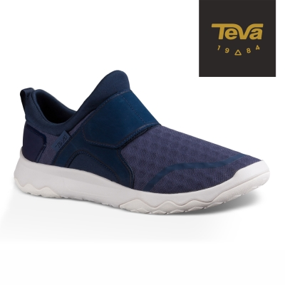 【TEVA】原廠貨 男 Arrowood Swift Slip-On 輕量休閒鞋/健走鞋(藍-TV1017171NAVY)