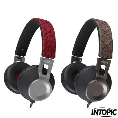 INTOPIC-摺疊音樂耳機麥克風 JAZZ-M360