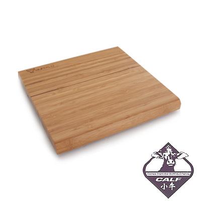 牛頭牌 竹木砧板加腳墊-小(25.5x25.5x2.2cm)