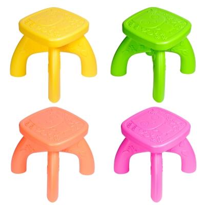 寶貝樂 貓頭鷹攜帶式可拆組兒童椅4入